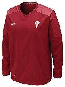 95b7ae8b1b72 Nike Men s MLB Staff Ace Dri-Fit Pullover Phillies
