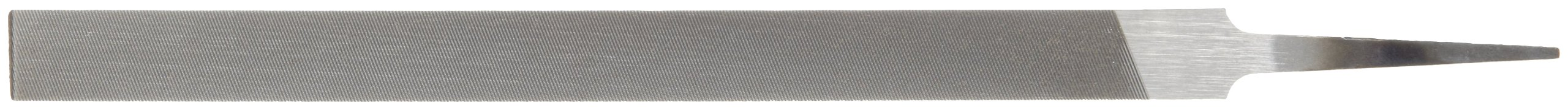 8 Length Double Cut Extra Narrow Nicholson Pillar File #0 Coarseness Swiss Pattern Rectangular