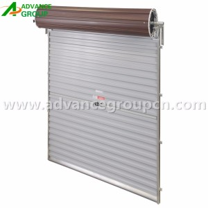 Guangzhou factory cheap price galvanized steel interior roll up doors for storage units