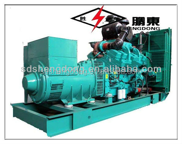 30kw/37.5kva Diesel Generators used in industry , hospital , oil field with brushless alternator SD-30