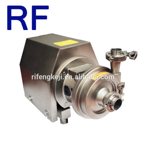 RF Food Grade Sanitary Stainless Steel 7.5KW Electric Centrifugal Pump