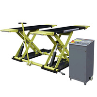 Hydraulic car lift REACH CE Certified Scissor car lift for Home Garage