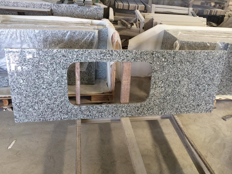 Swan White cheap granite countertop grey granite kitchen countertop