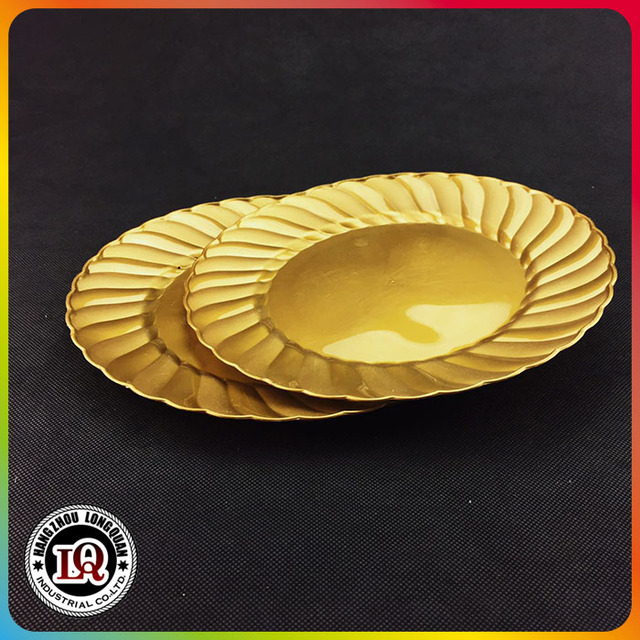 charger plates gold plastic-Source quality charger plates gold ...