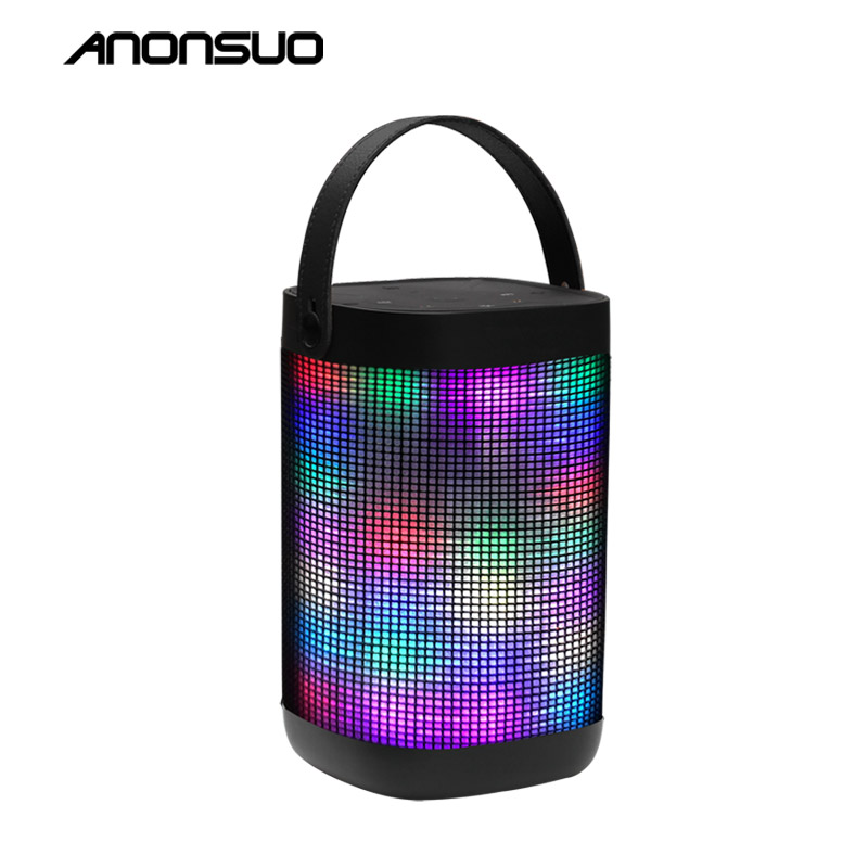 2017 Newest portable wireless outdoor led light ws 887 bluetooth speaker 20w