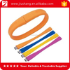 Fashion low price silicone usb flash memory bracelet 500gb
