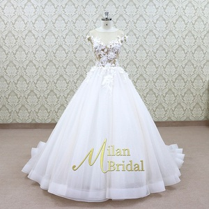 cap sleeve pattern mother of the groom dress Mermaid Wedding Gown wedding dress