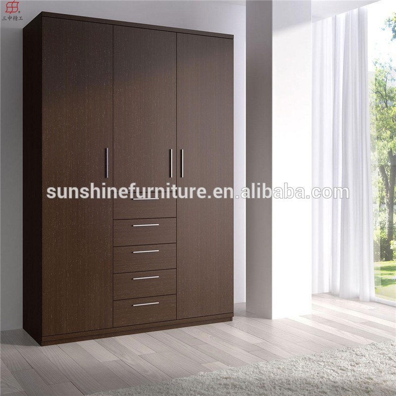 3 door wardrobe designs images for Cupboard door design ideas