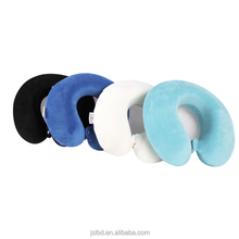 Accountable Manufacturer On-Time Shipment Customized 100% Bamboo Fiber Neck Support Memory Foam Travel Pillow