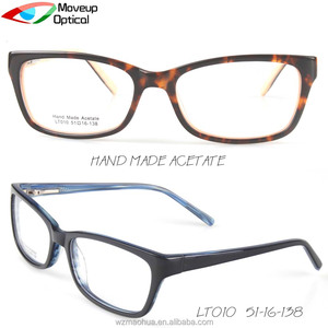 Moveup Optical eyeglasses frames fred Reading clear fake glasses optical acetate eyeglass frames for small faces