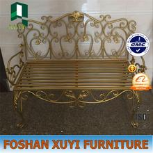 wholesale high quality metal double seat chair with arm for sale