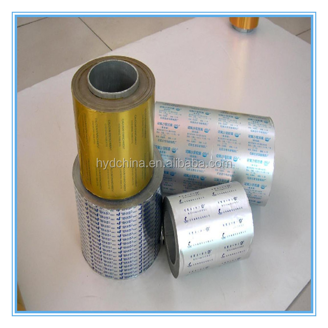Pharma Printable and Lacquered Aluminum Foil