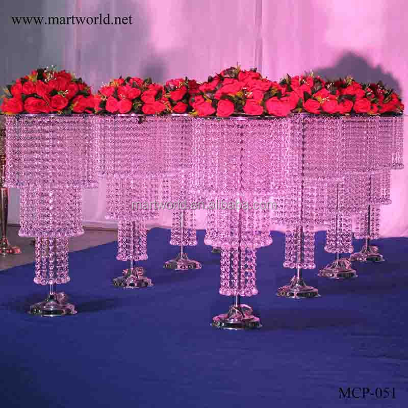 2019 Led Lighting Crystal Wedding Centerpiece Wedding Table