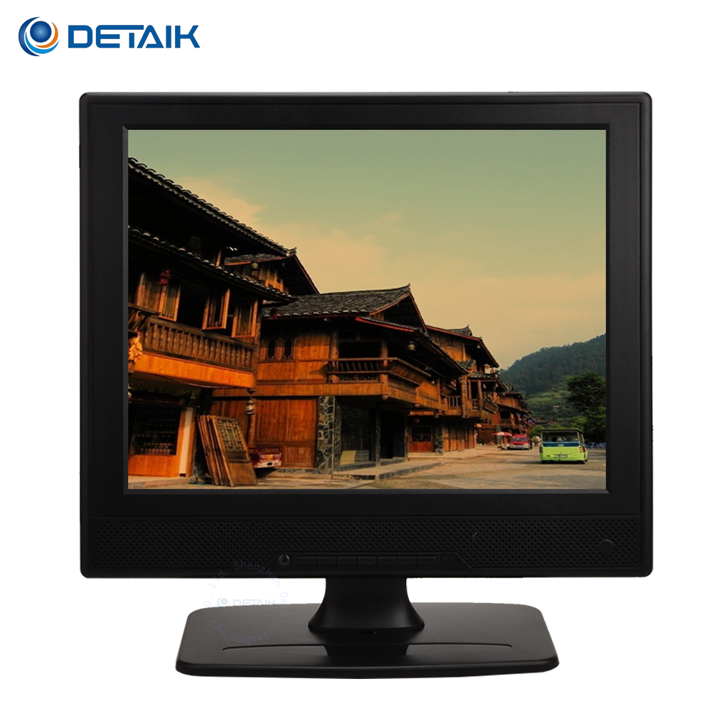 12 inch LCD Computer Monitor with TV Port Square 12.1 Inch LED TV Monitor Composite Video Input