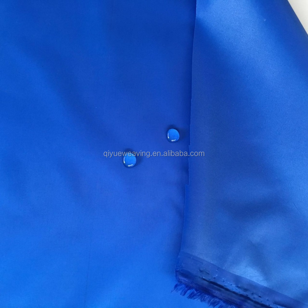 210T polyester waterproof and uv taffeta fabric for tent