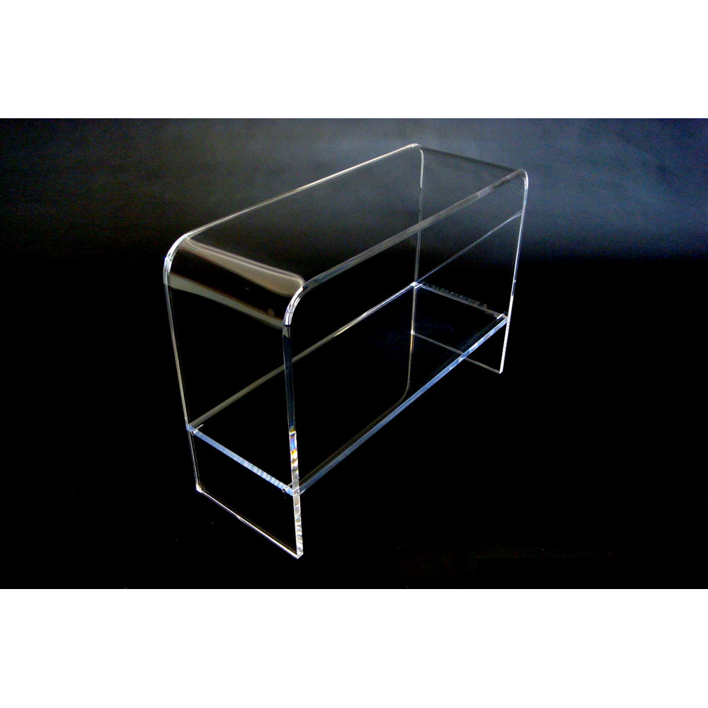 Acrylic Console Table With Shelf, Acrylic Console Table With Shelf  Suppliers And Manufacturers At Alibaba.com
