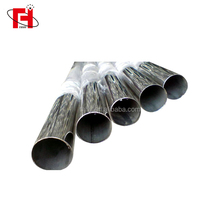 Tubo de acero inoxidable / INOX SS SUS pipe ! 201 304 316 stainless steel pipe & tube