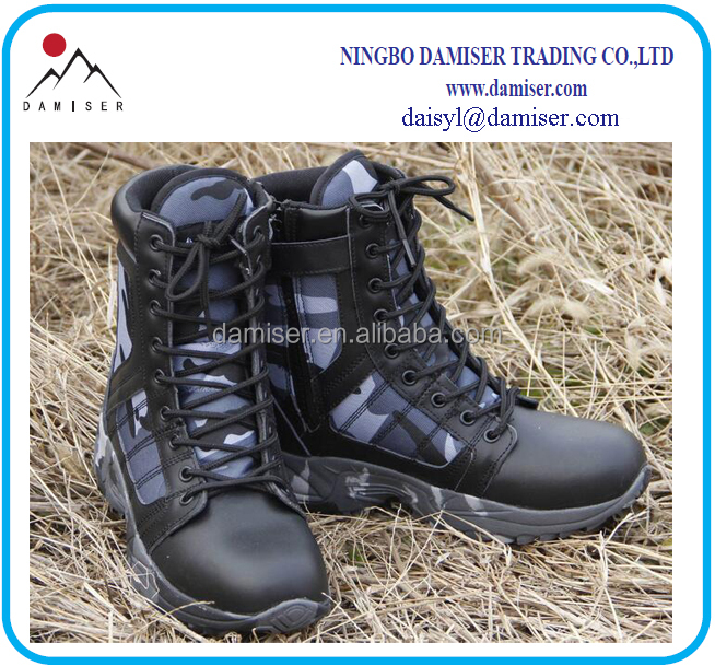 leather boots boots comfortable genuine hunting combat tactical SH14 hikking boots wC5aZqx