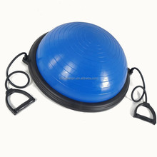 Yoga <span class=keywords><strong>Ball</strong></span> Fitness Home Gym Ausrüstung Muskelkraft Übung Stabilität Yoga Halbe <span class=keywords><strong>Ball</strong></span> Mit Pumpe