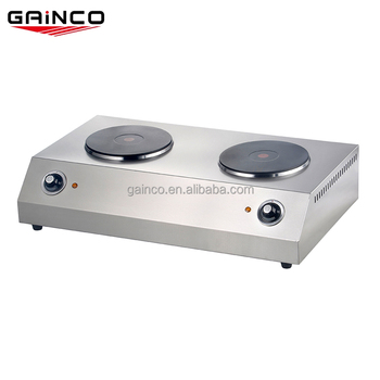 Kitchen Equipment 2 Burner Table Top Electric Stove Portable Double Hot Plate