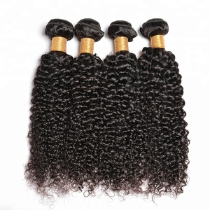 Super Double Drawn Virgin Hair Brazilian Curly Human Hair Extensions,Virgin Mongolian Kinky Curly Hair