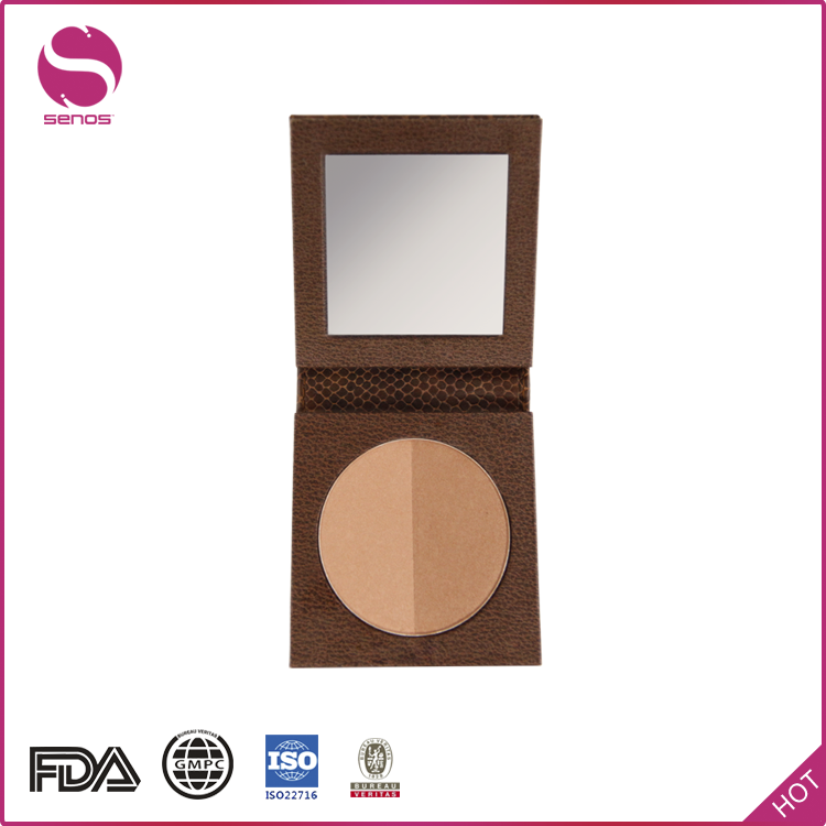 Senos China Supplier Making OEM Colour Pressed Powder Private Label Makeup Bronzer