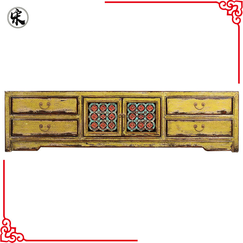 beijing chinese antique cabinet tv, rustic wood furniture