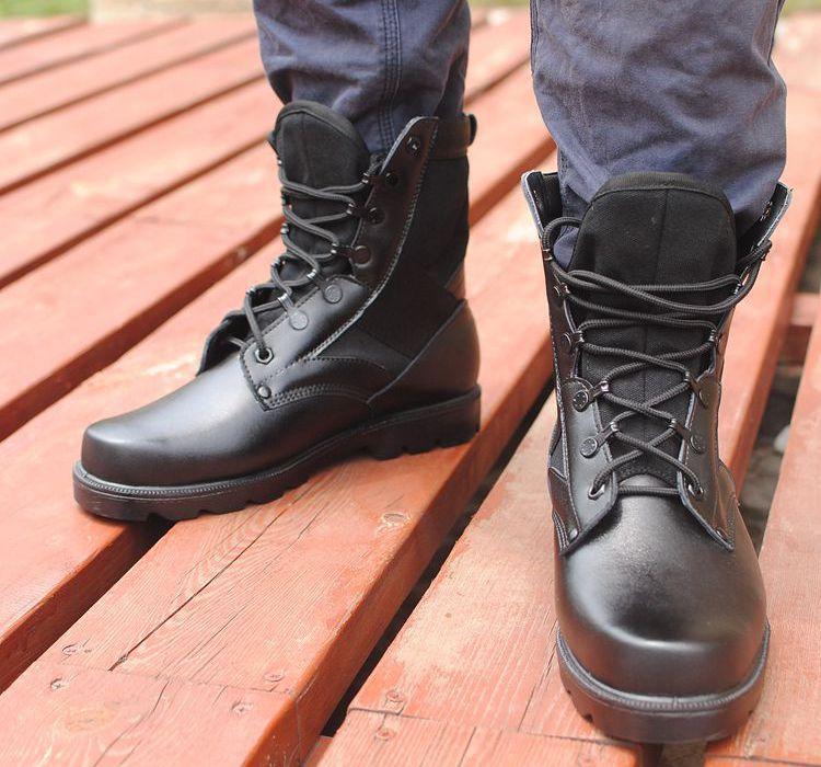 VISION black boot militaire botte ยุทธวิธี multi-funtion bota ความปลอดภัยรองเท้าผู้ชายรองเท้าทหาร tactico สูงรองเท้าขา