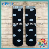 2014 Wholesale Brand New Baby Stocking Kids Socks Classic Polka Dot Design Stocking
