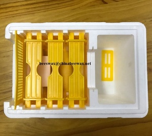 Beekeeping tools queen bee rearing plastic styrofoam nucleus bee hive box as queen rearing nuc box