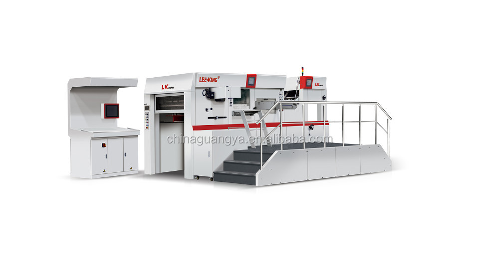 plastic die cutting machine
