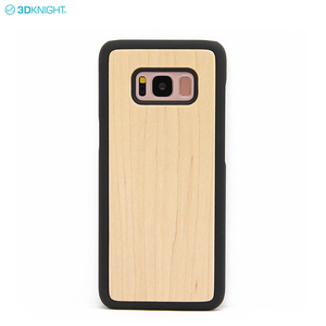 High Quality Real Wood PC Mobile Back Hard Cover Phone Case For Samsung Galaxy S7 S8 S9