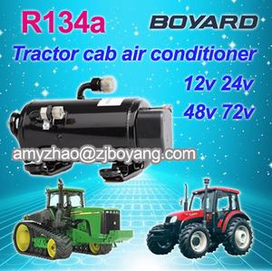 12 volt dc compressor air condition for aire acondicionado 12v para  tractors klima air conditioner