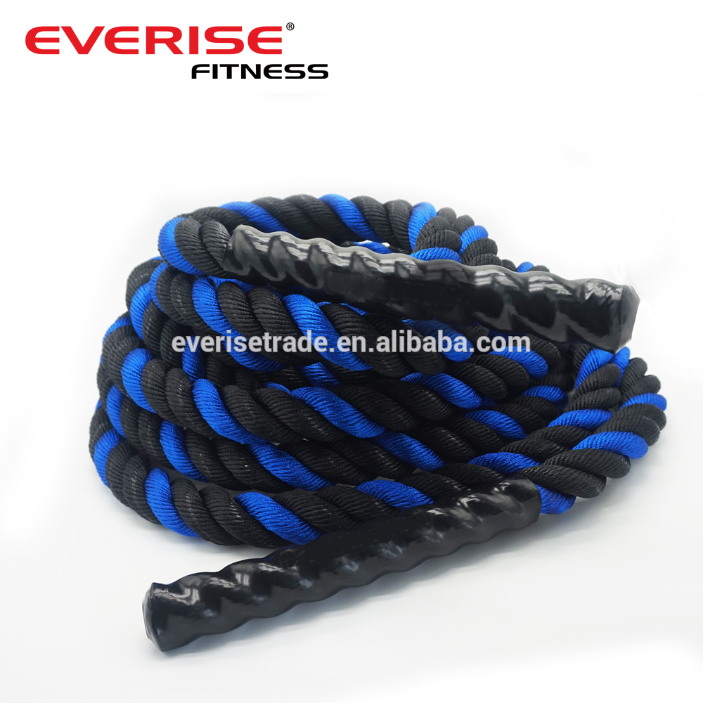 cheap color polyester battle ropes crossfit