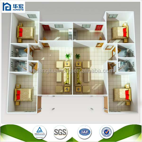 Wondrous Hot Sale Iso Certification Ready Build Simple House Structure Largest Home Design Picture Inspirations Pitcheantrous