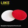 Use with glass compound liquid glass polishing pad