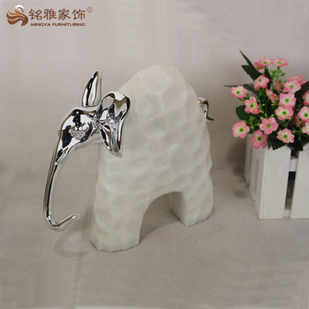 Home Decorative Little Figurines Resin Elephant
