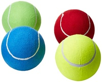 "Assorted Color 8"" Oversize Jumbo Tennis Ball Toy Activity Play Children Adult Pet Fun, Lot of 2"