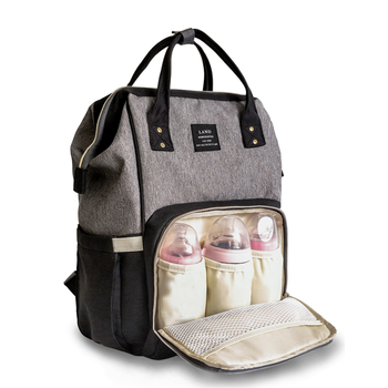 a48ac350956327 baby diaper bag backpack waterproof diaper wet baby bag multifunctional  Mummy maternity nappy changing mom backpack