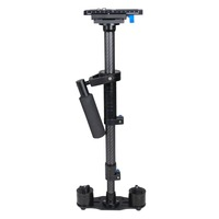 YELANGU S80T Factory Price Professional Handheld Camera Steadicam Max 80cm Length Carbon Fiber Black Stabilizer for DSLR Video