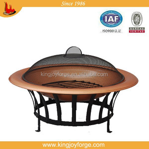 30'' Copper finish fire bowl/BBQ grill