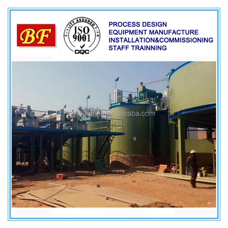 Lime gypsum large volume mineral agitator tank in China
