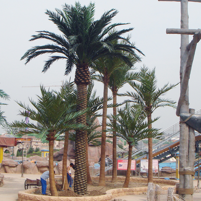 Professional Design Artificial Large Outdoor Date Palm Tree