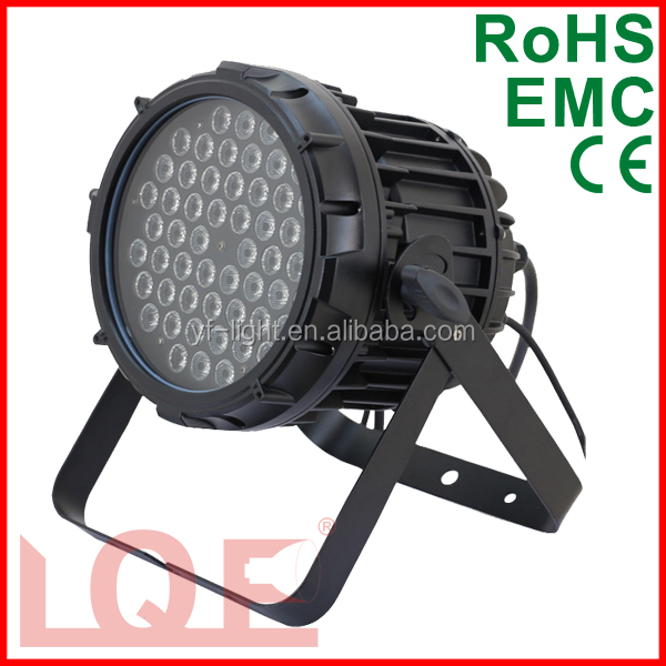 cheap price waterproof led par can 54pcs rgbw DMX outdoor led par light