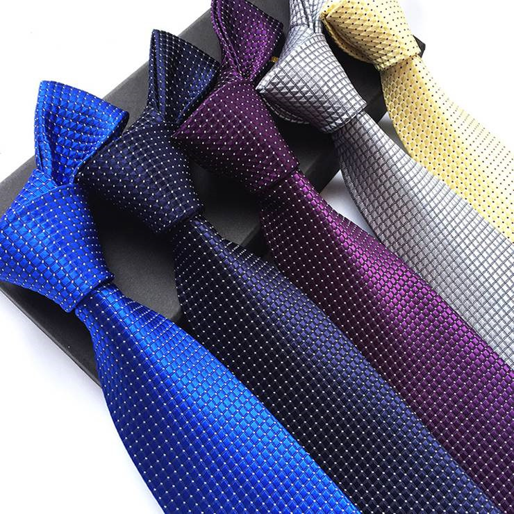 European 2019 Men Fashion New 8cm <strong>Tie</strong> Casual Polyester Stripe Black Neck <strong>Tie</strong>
