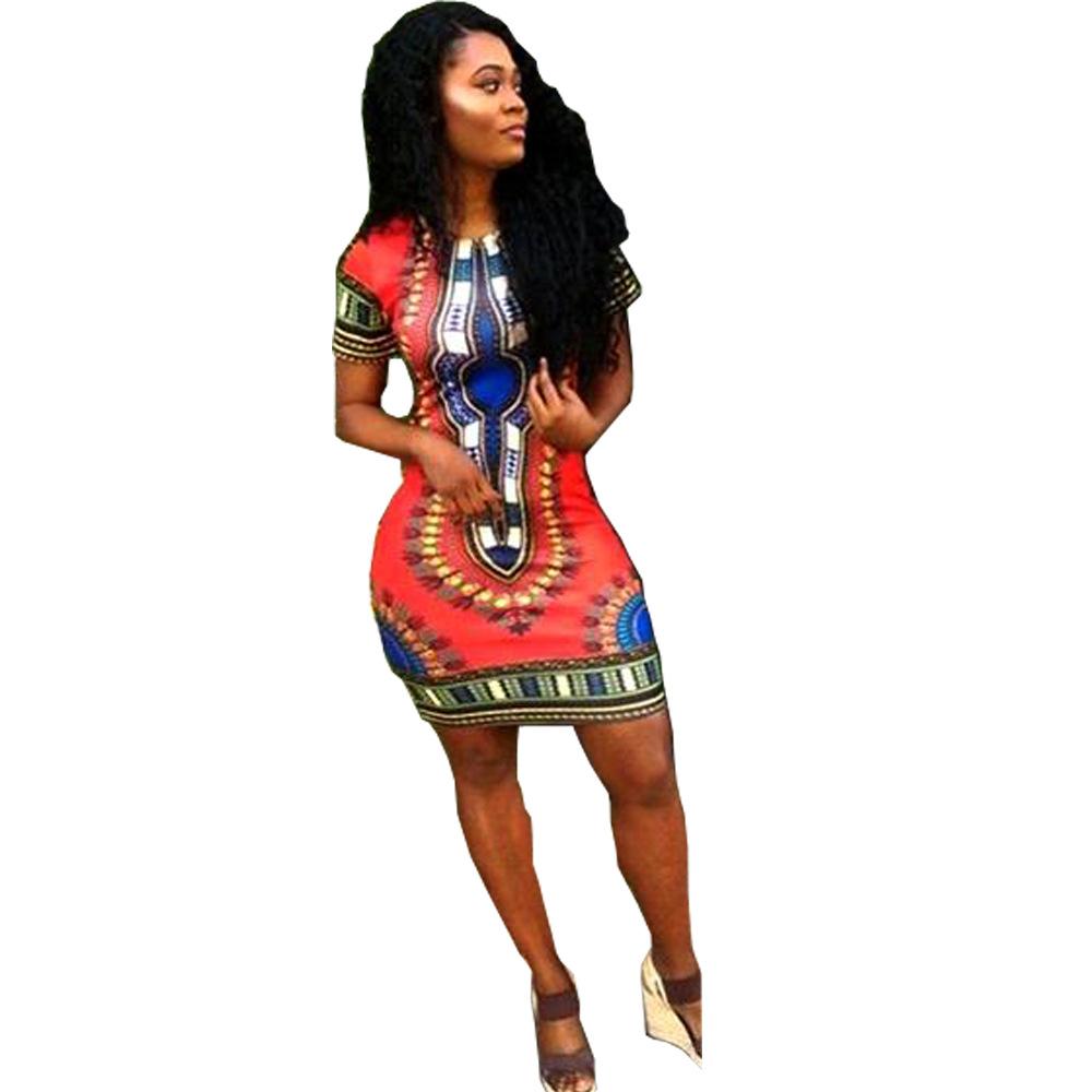 4bea41ffd355f Detail Feedback Questions about Women Boho Dashiki Dresses Shirt ...