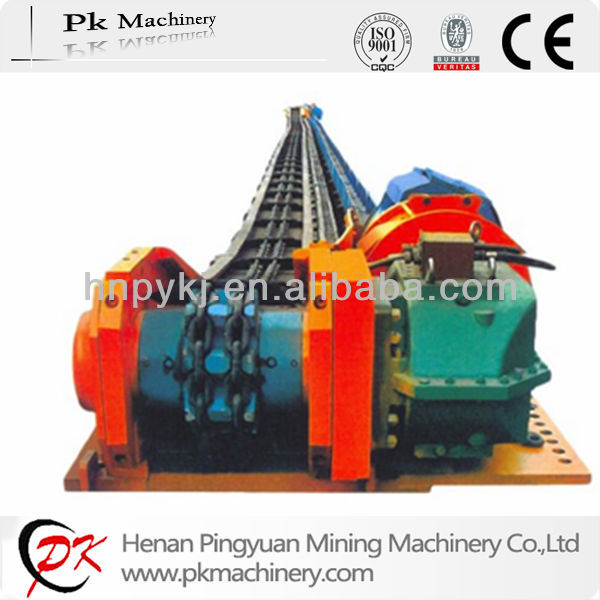 Twin Outboard Chain Coal Mining Transmission Chain Chute Conveyor