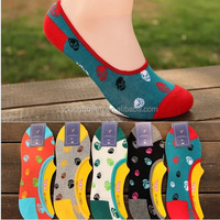 HW32 socks wholesale skull summer men's cotton socks invisible ship socks