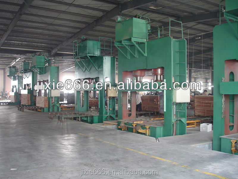4*8 feet plywood cold press machine/wood working hydraulic pre-press machine for plywood