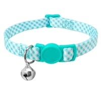 New Arrival Safe Breakaway Release Buckle Nylon Pet Cat Collar